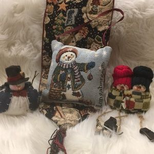 Other - Vintage 4pc Snowmen